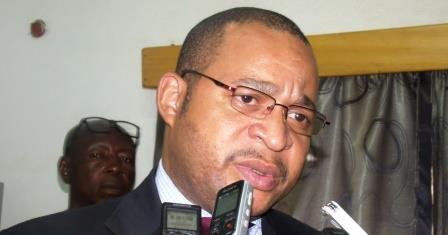 Ministre de la sécurité publique J. Serge Bokassa@Eric Ngaba