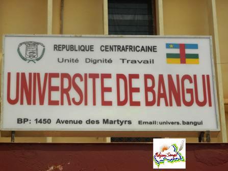Université de Bangui@Eric Ngaba
